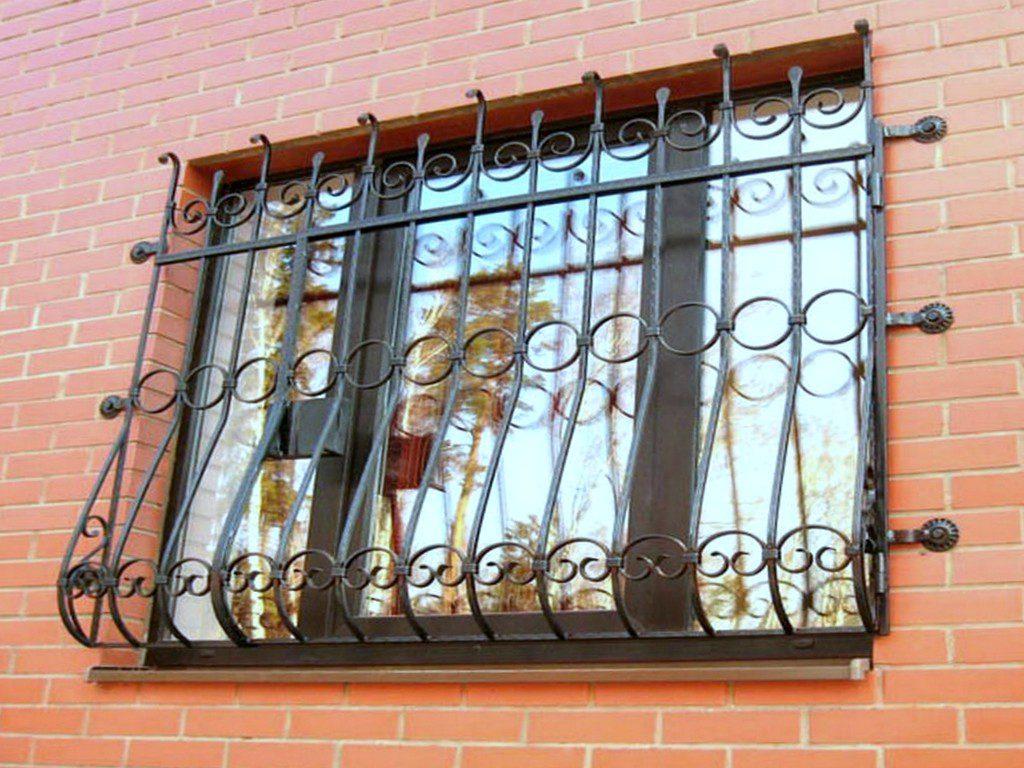 Решетки на окна в Волгограде. Пример работы №2